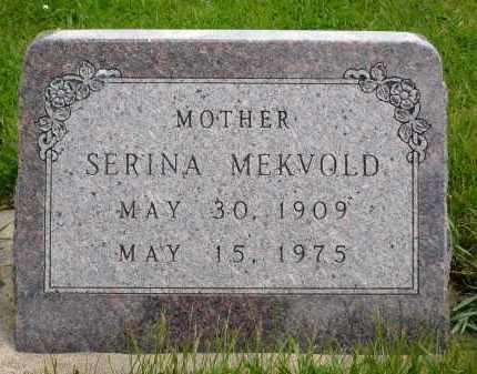 MEKVOLD, SERINA - Minnehaha County, South Dakota | SERINA MEKVOLD - South Dakota Gravestone Photos