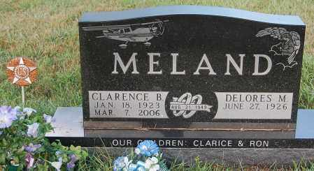 MELAND, CLARENCE B. - Minnehaha County, South Dakota | CLARENCE B. MELAND - South Dakota Gravestone Photos