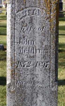 MELDRUM, LOTTA M. - Minnehaha County, South Dakota   LOTTA M. MELDRUM - South Dakota Gravestone Photos