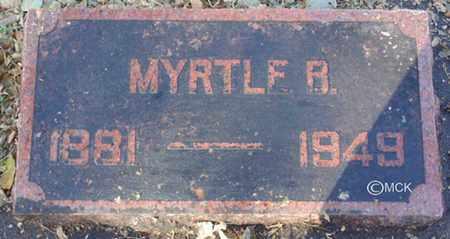 MELDRUM, MYRTLE B. - Minnehaha County, South Dakota   MYRTLE B. MELDRUM - South Dakota Gravestone Photos