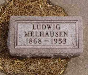 MELHAUSEN, LUDWIG - Minnehaha County, South Dakota   LUDWIG MELHAUSEN - South Dakota Gravestone Photos