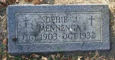 MENNENGA, SOPHIE J. - Minnehaha County, South Dakota   SOPHIE J. MENNENGA - South Dakota Gravestone Photos