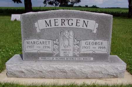 MERGEN, GEORGE - Minnehaha County, South Dakota | GEORGE MERGEN - South Dakota Gravestone Photos