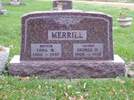 MERRILL, EDNA M. - Minnehaha County, South Dakota | EDNA M. MERRILL - South Dakota Gravestone Photos