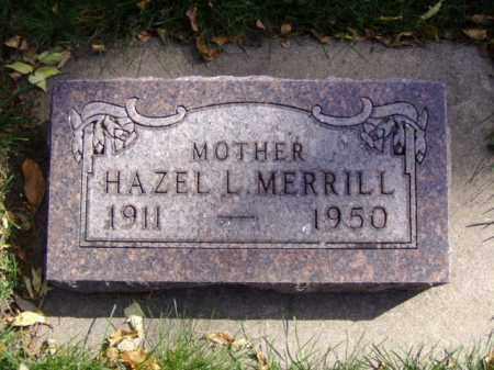 MERRILL, HAZEL L. - Minnehaha County, South Dakota | HAZEL L. MERRILL - South Dakota Gravestone Photos
