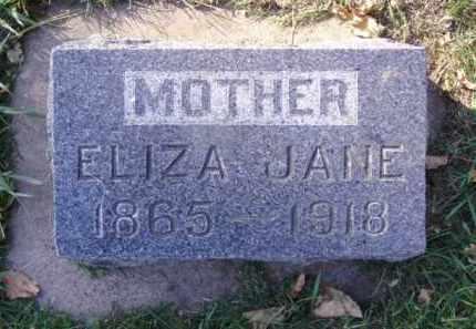 MERRITT, ELIZA JANE - Minnehaha County, South Dakota   ELIZA JANE MERRITT - South Dakota Gravestone Photos