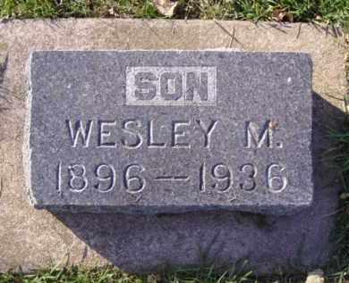 MERRITT, WESLEY M. - Minnehaha County, South Dakota | WESLEY M. MERRITT - South Dakota Gravestone Photos
