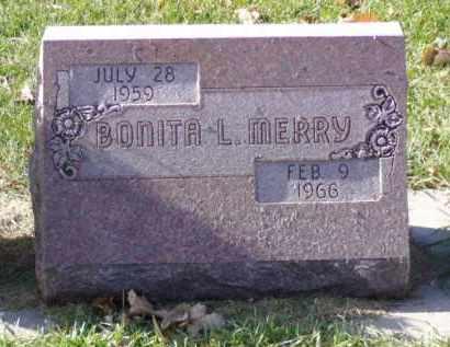 MERRY, BONITA L. - Minnehaha County, South Dakota | BONITA L. MERRY - South Dakota Gravestone Photos