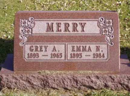 MERRY, GREY A. - Minnehaha County, South Dakota | GREY A. MERRY - South Dakota Gravestone Photos