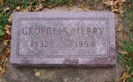 MERRY, GEORGE S. - Minnehaha County, South Dakota | GEORGE S. MERRY - South Dakota Gravestone Photos