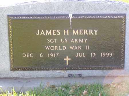 MERRY, JAMES H. - Minnehaha County, South Dakota | JAMES H. MERRY - South Dakota Gravestone Photos
