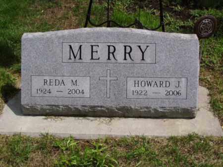 MERRY, HOWARD J. - Minnehaha County, South Dakota | HOWARD J. MERRY - South Dakota Gravestone Photos