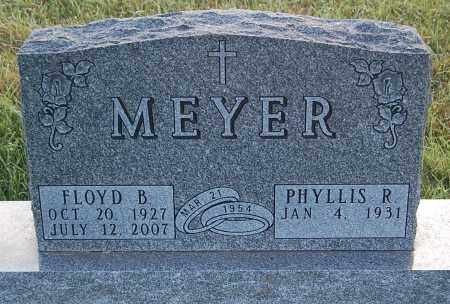MEYER, PHYLLIS R. - Minnehaha County, South Dakota | PHYLLIS R. MEYER - South Dakota Gravestone Photos