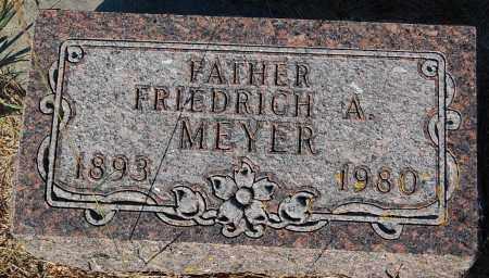 MEYER, FRIEDRICH A. - Minnehaha County, South Dakota | FRIEDRICH A. MEYER - South Dakota Gravestone Photos