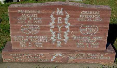 LINDSEY MEYER, DEMARIS RENE - Minnehaha County, South Dakota | DEMARIS RENE LINDSEY MEYER - South Dakota Gravestone Photos
