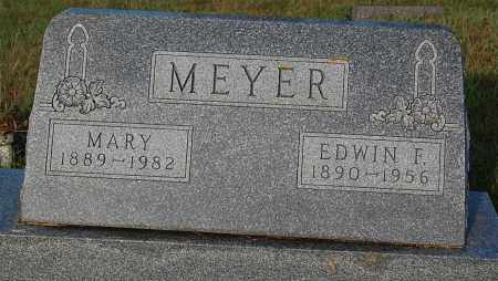 MEYER, EDWIN F. - Minnehaha County, South Dakota   EDWIN F. MEYER - South Dakota Gravestone Photos