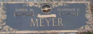 MEYER, FLORENCE - Minnehaha County, South Dakota   FLORENCE MEYER - South Dakota Gravestone Photos