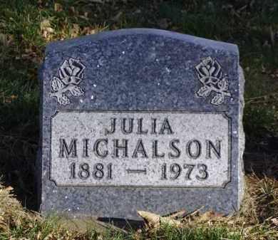 MICHALSON, JULIA - Minnehaha County, South Dakota | JULIA MICHALSON - South Dakota Gravestone Photos