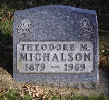 MICHALSON, THEODORE M. - Minnehaha County, South Dakota | THEODORE M. MICHALSON - South Dakota Gravestone Photos