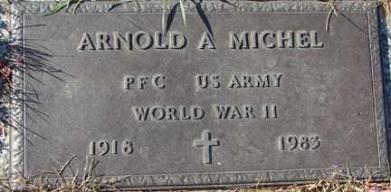 MICHEL, ARNOLD A. - Minnehaha County, South Dakota   ARNOLD A. MICHEL - South Dakota Gravestone Photos