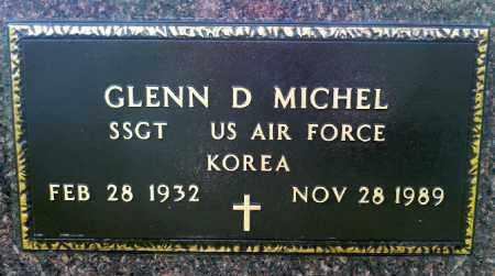 MICHEL, GLENN D. (KOREA) - Minnehaha County, South Dakota   GLENN D. (KOREA) MICHEL - South Dakota Gravestone Photos