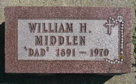 MIDDLEN, WILLIAM H. - Minnehaha County, South Dakota   WILLIAM H. MIDDLEN - South Dakota Gravestone Photos