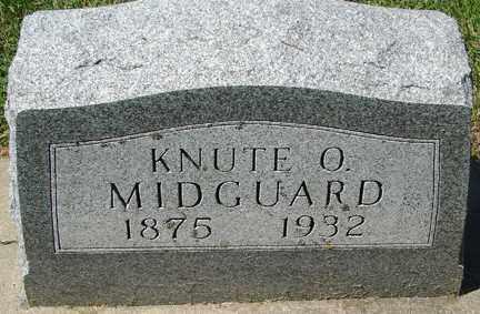 MIDGUARD, KNUTE O. - Minnehaha County, South Dakota | KNUTE O. MIDGUARD - South Dakota Gravestone Photos