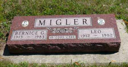 MIGLER, BERNICE G. - Minnehaha County, South Dakota | BERNICE G. MIGLER - South Dakota Gravestone Photos