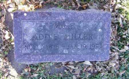 MILLER, ADDIE - Minnehaha County, South Dakota | ADDIE MILLER - South Dakota Gravestone Photos