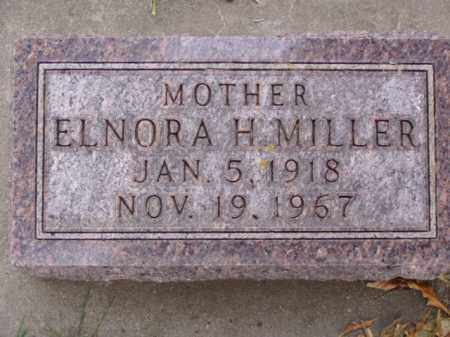 MILLER, ELNORA H. - Minnehaha County, South Dakota | ELNORA H. MILLER - South Dakota Gravestone Photos