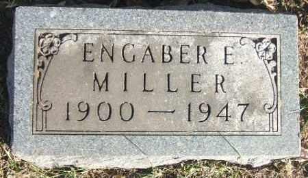 MILLER, ENGABER E. - Minnehaha County, South Dakota | ENGABER E. MILLER - South Dakota Gravestone Photos