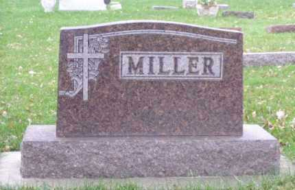 MILLER, FAMILY MARKER - Minnehaha County, South Dakota | FAMILY MARKER MILLER - South Dakota Gravestone Photos