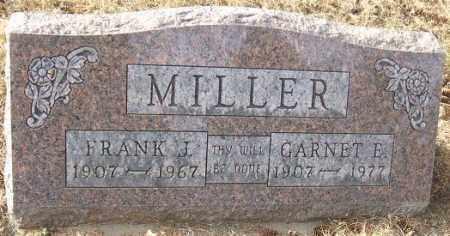 MILLER, GARNET E. - Minnehaha County, South Dakota   GARNET E. MILLER - South Dakota Gravestone Photos