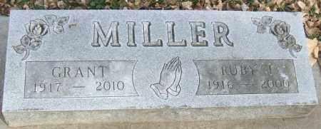 MILLER, GRANT - Minnehaha County, South Dakota | GRANT MILLER - South Dakota Gravestone Photos