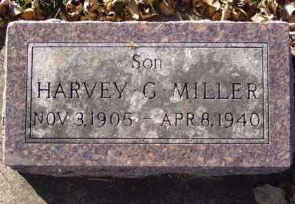 MILLER, HARVEY G. - Minnehaha County, South Dakota | HARVEY G. MILLER - South Dakota Gravestone Photos