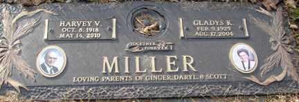 MILLER, HARVEY V. - Minnehaha County, South Dakota | HARVEY V. MILLER - South Dakota Gravestone Photos