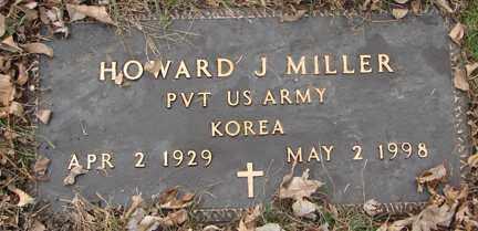 MILLER, HOWARD J. (KOREA) - Minnehaha County, South Dakota | HOWARD J. (KOREA) MILLER - South Dakota Gravestone Photos