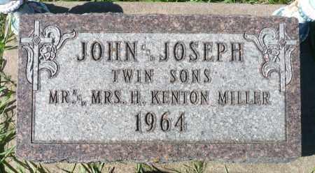 MILLER, JOSEPH - Minnehaha County, South Dakota | JOSEPH MILLER - South Dakota Gravestone Photos