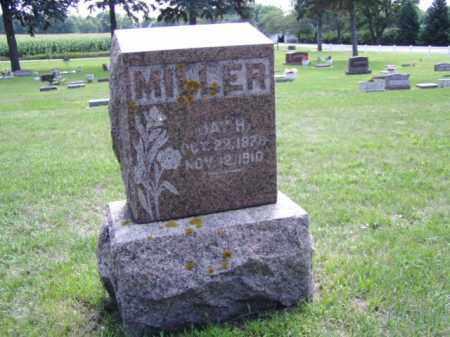 MILLER, JAY H. - Minnehaha County, South Dakota | JAY H. MILLER - South Dakota Gravestone Photos