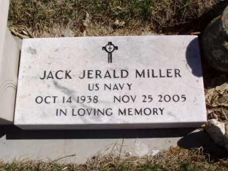 MILLER, JACK JERALD - Minnehaha County, South Dakota | JACK JERALD MILLER - South Dakota Gravestone Photos