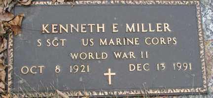 MILLER, KENNETH E. (WWII) - Minnehaha County, South Dakota | KENNETH E. (WWII) MILLER - South Dakota Gravestone Photos