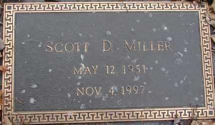 MILLER, SCOTT D. - Minnehaha County, South Dakota   SCOTT D. MILLER - South Dakota Gravestone Photos