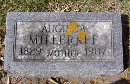 MILLERKEE, AUGUSTA - Minnehaha County, South Dakota | AUGUSTA MILLERKEE - South Dakota Gravestone Photos
