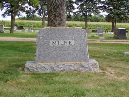 MILNE, FAMILY MARKER - Minnehaha County, South Dakota   FAMILY MARKER MILNE - South Dakota Gravestone Photos