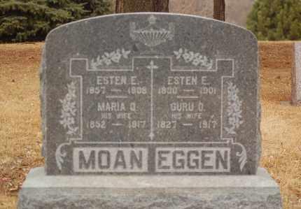 EGGEN, ESTEN E. - Minnehaha County, South Dakota | ESTEN E. EGGEN - South Dakota Gravestone Photos