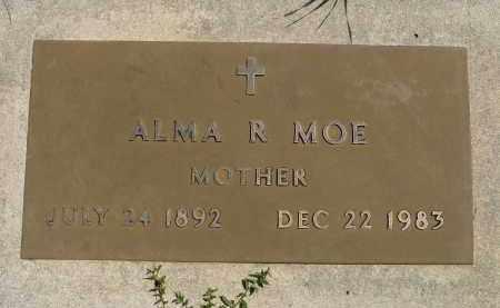 MOE, ALMA R. - Minnehaha County, South Dakota | ALMA R. MOE - South Dakota Gravestone Photos
