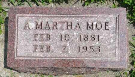 MOE, ANNE MARTHA - Minnehaha County, South Dakota | ANNE MARTHA MOE - South Dakota Gravestone Photos