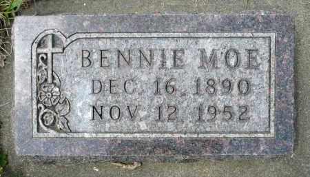 MOE, BENNIE - Minnehaha County, South Dakota   BENNIE MOE - South Dakota Gravestone Photos