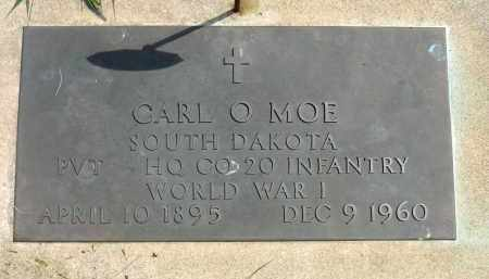 MOE, CARL O. (WWI) - Minnehaha County, South Dakota | CARL O. (WWI) MOE - South Dakota Gravestone Photos