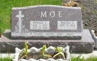 MOE, DENNIS L. - Minnehaha County, South Dakota | DENNIS L. MOE - South Dakota Gravestone Photos